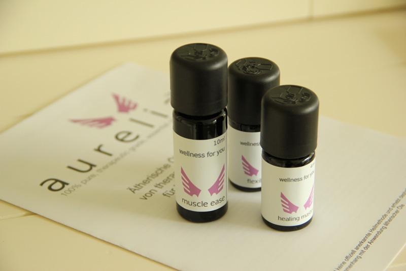 Ätherische Öle von aurelia - Ölmischungen für seelische und körperliche Gesundheit
