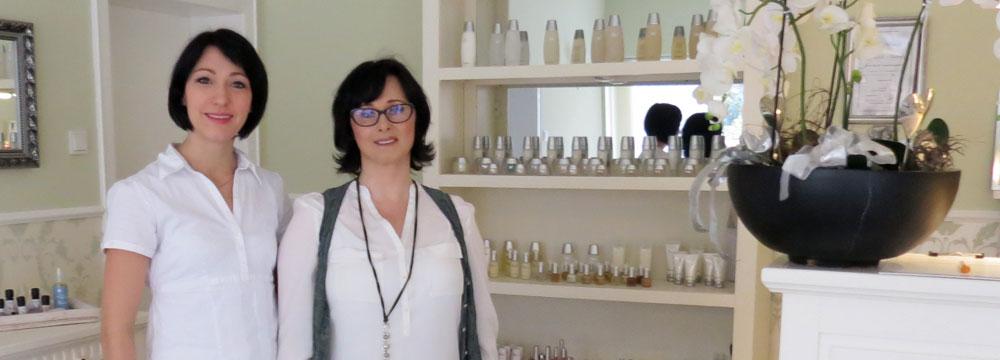 Kosmetikerinnen Izabella Rodewald und Sabrina Lübeck, Herne