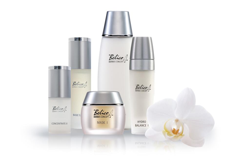 Belico Produktlinie Gesichtspflege