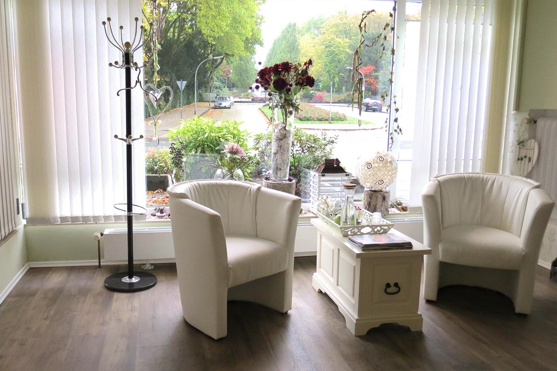 Kosmetikstudio Treffpunkt Schönheit Herne - Blick nach draußen